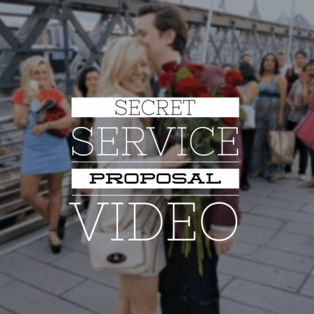 Secret service proposal video