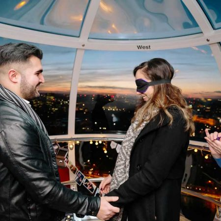 Marriage Proposal On The London Eye