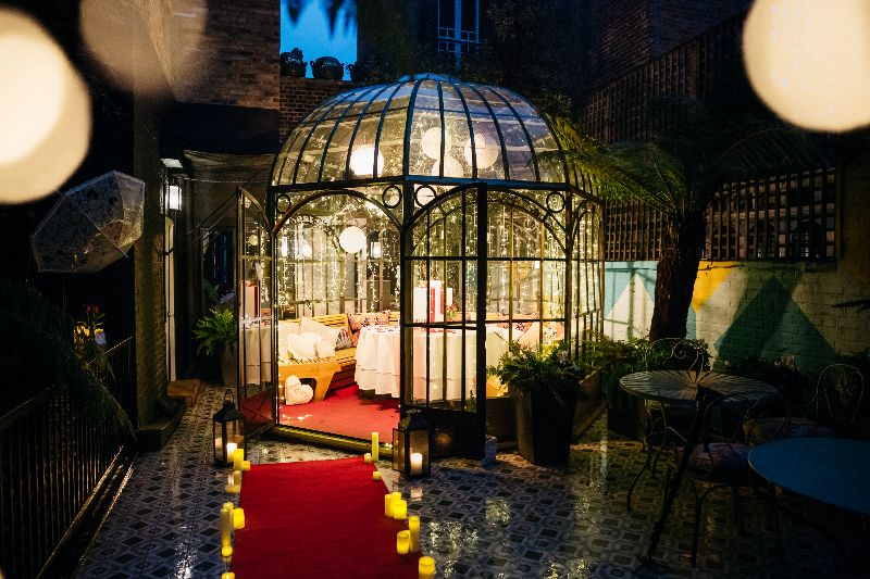 Valentines Day Proposal At Blakes Hotel London The One Romance