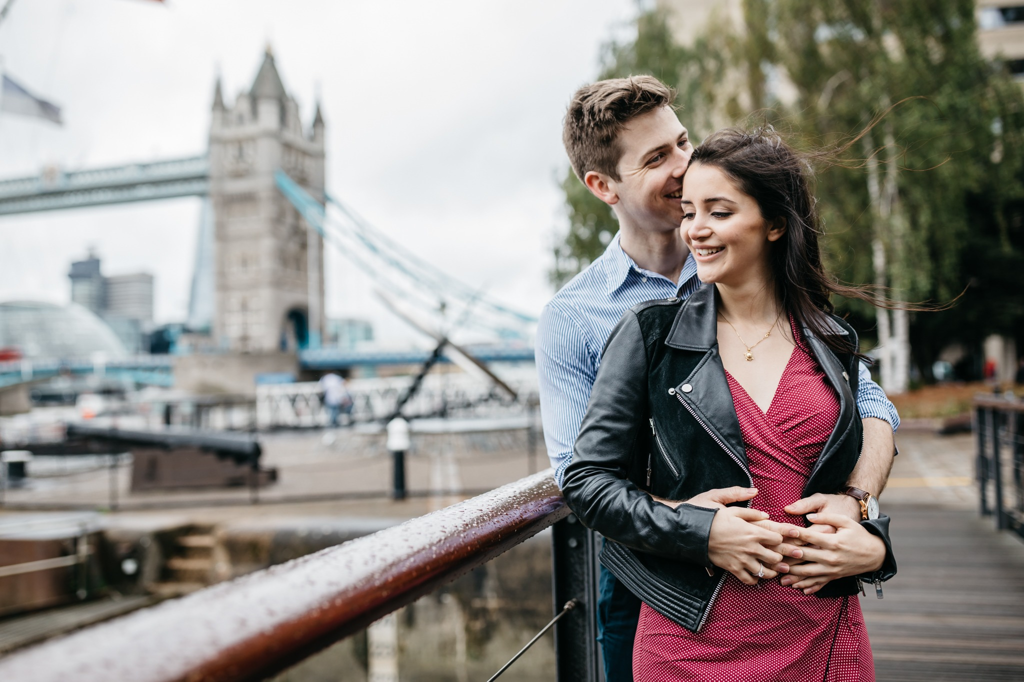 Iconic London Proposal with Love Notes - The One Romance