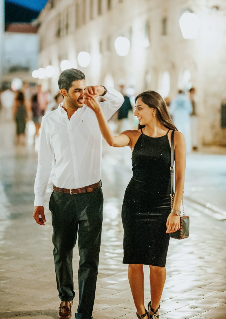 Breathtaking Sunset Proposal in Dubrovnik - The One Romance