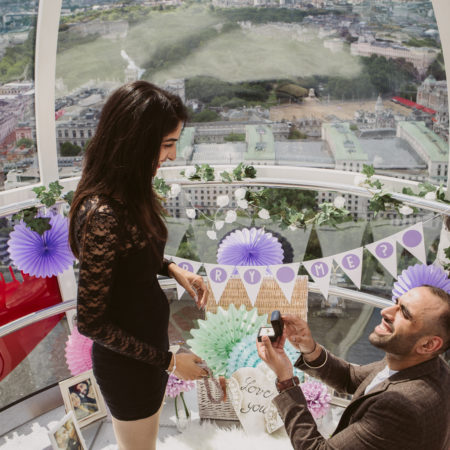 propose on the London eye
