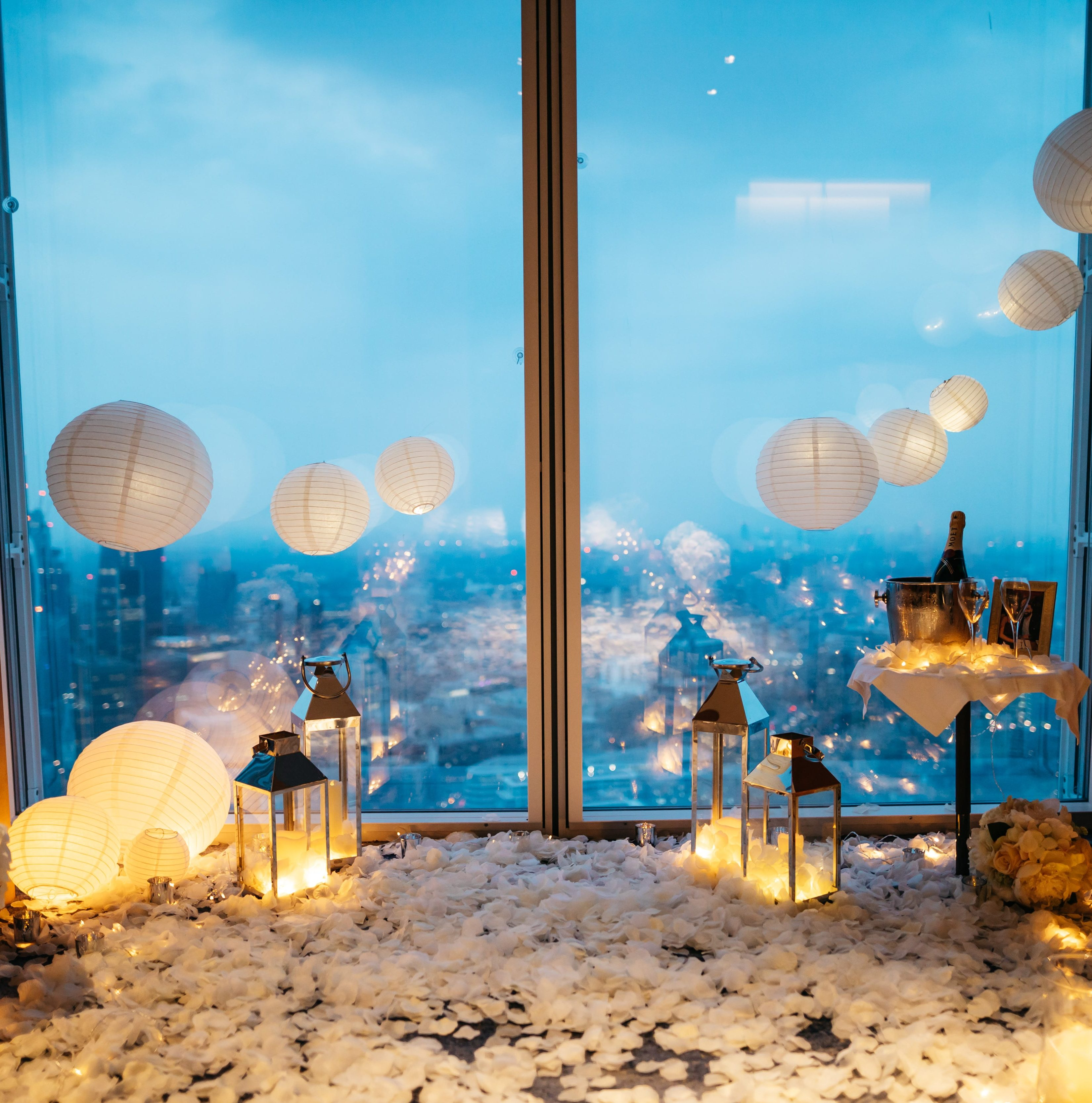 Room Decor Proposal Package The One Romance