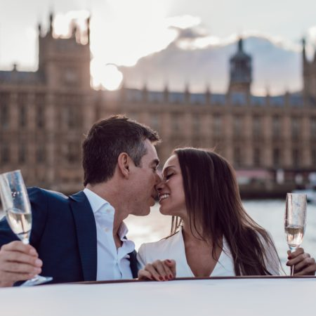 London boat trip proposal