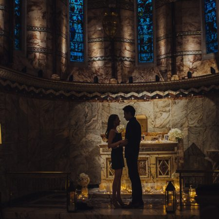 proposal at Fitzrovia chapel
